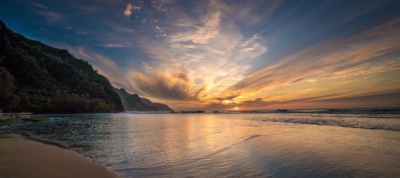 Napali Sunset - Kauai