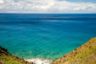 Clouds Over the Ocean - Kalalau Beach Trail, Kauai