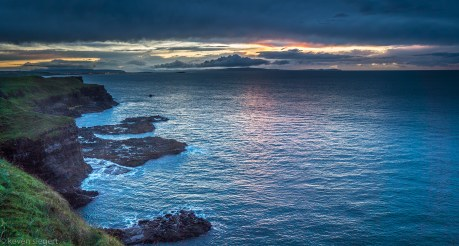 Giants Causeway Sunset - Ireland