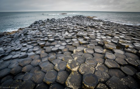 Basalt Columns at Giants Causeway - Ireland
