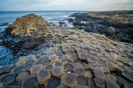 Basalt Columns at Giant's Causeway - Ireland