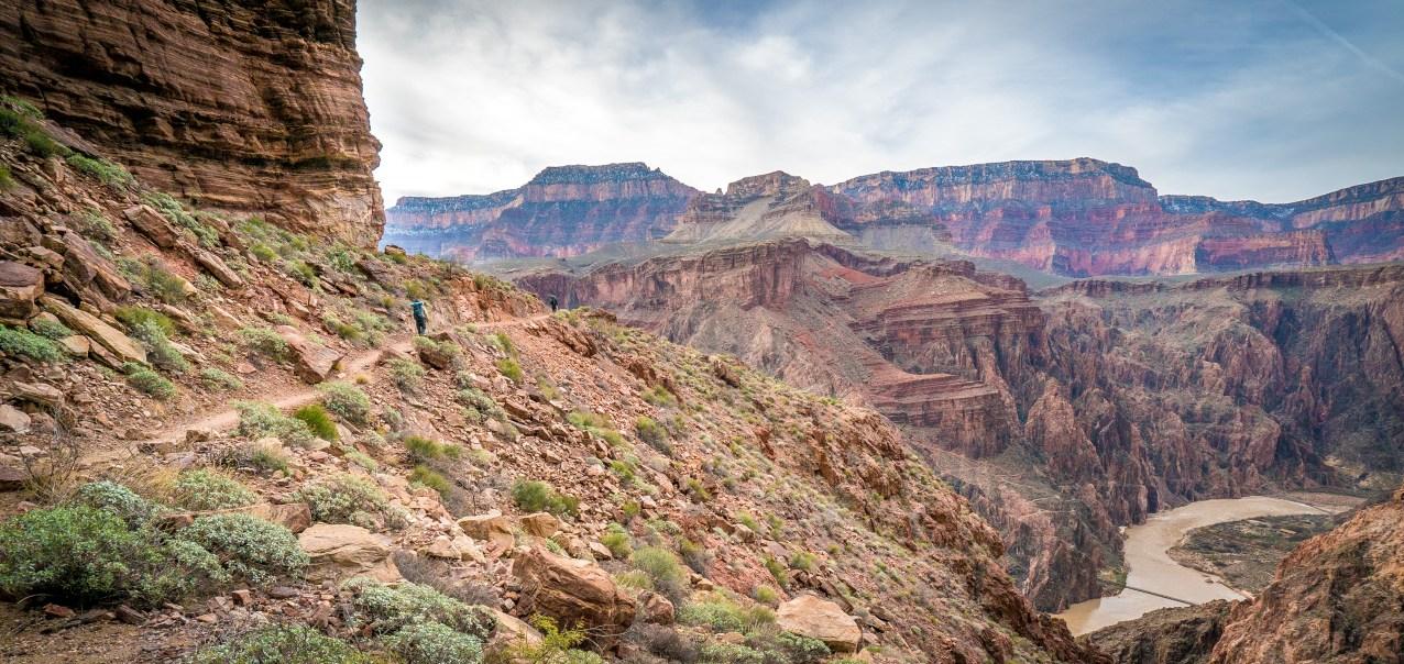Trail to Clear Creek - Grand Canyon , Arizona