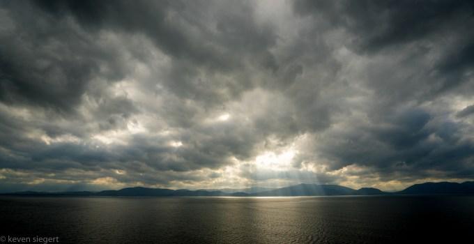 Rays of Light at Inch Beach - Ireland