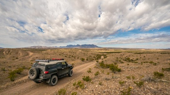 Off Roading - Big Bend National Park - Texas