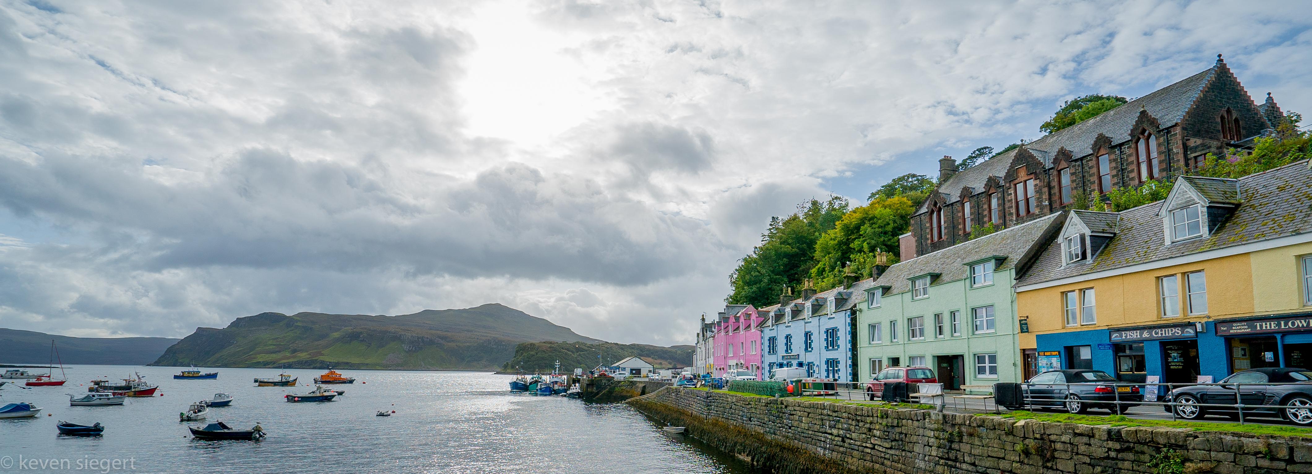 Portree - Isle of Skye, Scotland