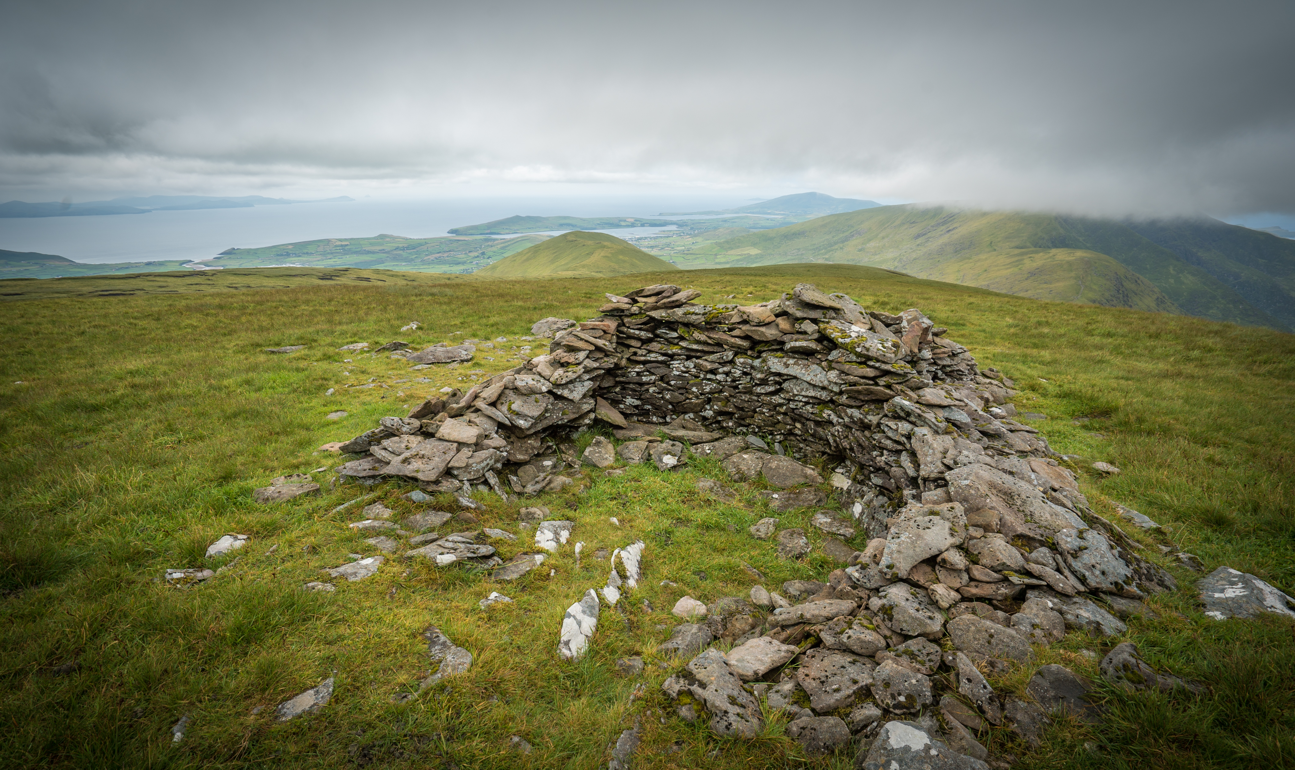 Shelter at Conor Pass, Ireland