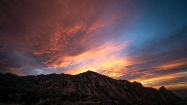 Sunset at Chisos Mountain - Texas