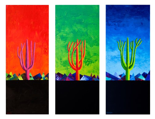 Saguaro Tryptic