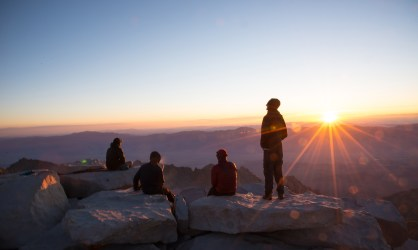 Mt Whitney Sunrise - California