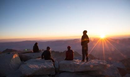 Mt Whitney Sunrise - California