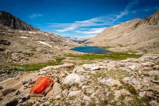 Campsite at Guitar Lake