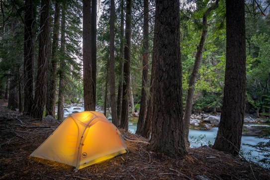 Kern River Campsite