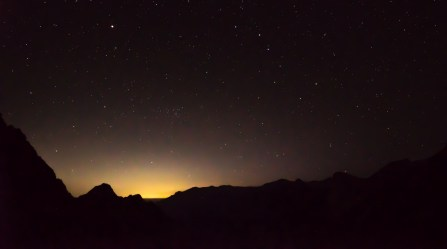 Starscape from Precipice Lake