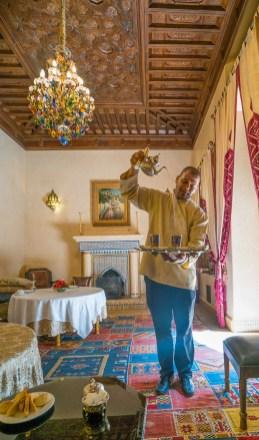 Mint Tea at the Riad