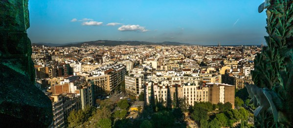 Barcelona from the Towers
