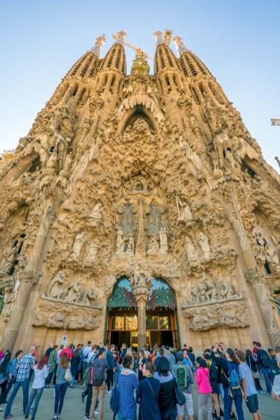 Basilica of the Sagrada Familia Ext