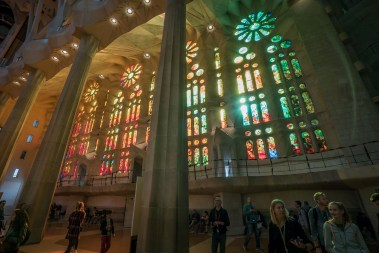 Basilica of the Sagrada Familia Stained Glass