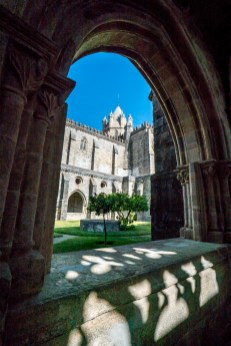 Evora View of Cathedral