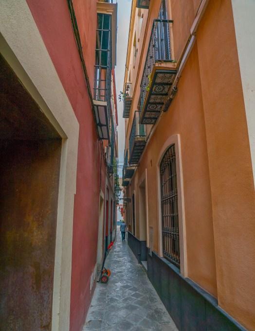 Seville Narrow Alley