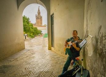 Seville Street Guitarist