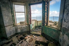 Abandoned House at Torr Head