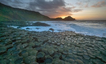 Giants Causeway sunset7