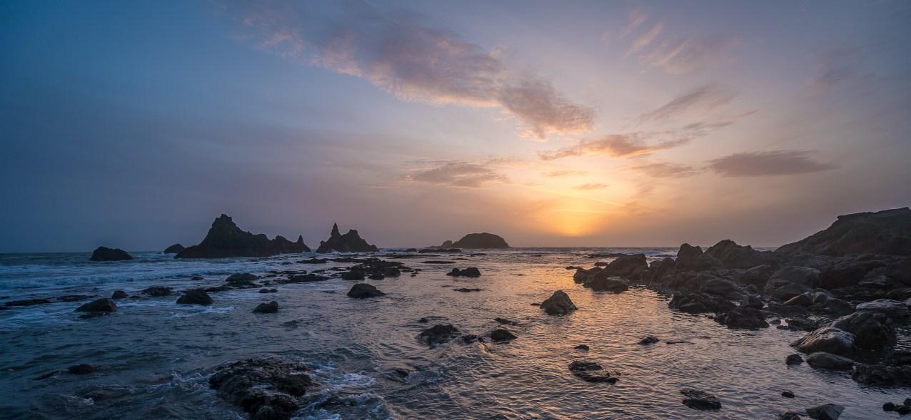 Kilfarrasy Beach sunset