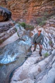George at Hermit Creek