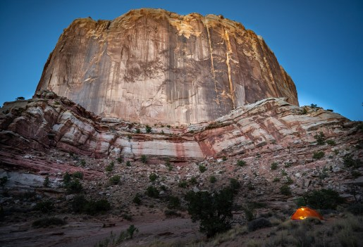 Capitol Reef - Campsite by Cliff