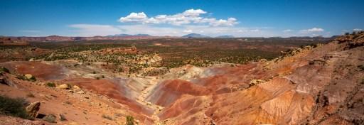 Capitol Reef - Desert Panoramic