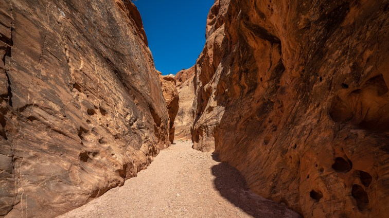 Capitol Reef - Muley Canyon Trail Slot