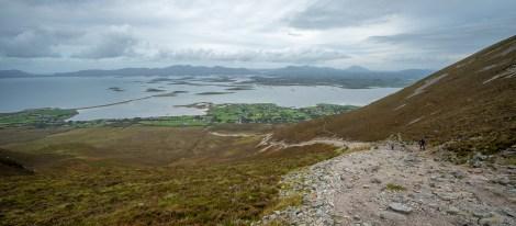 Crough Patrick Path Upward 2