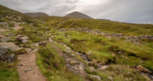 Crough Patrick Path Upward 3