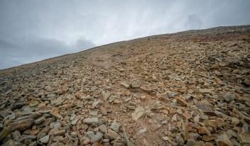 Crough Patrick Path Upward