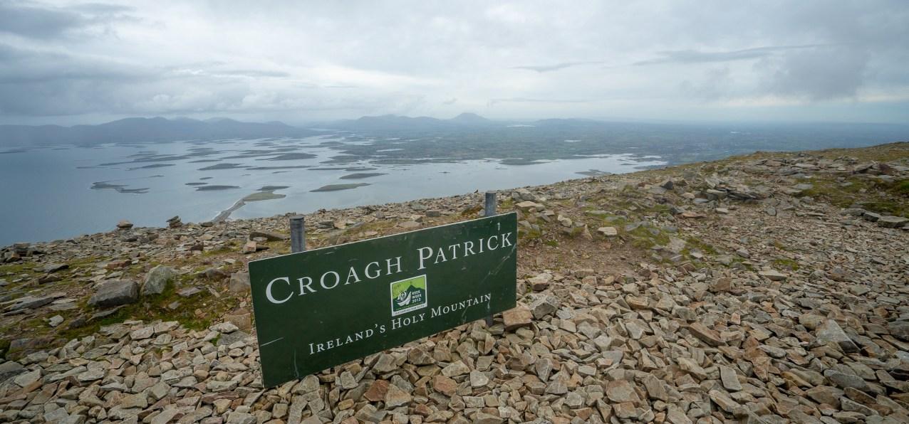 Crough Patrick Sign