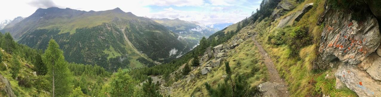 Hiking Along the Edge