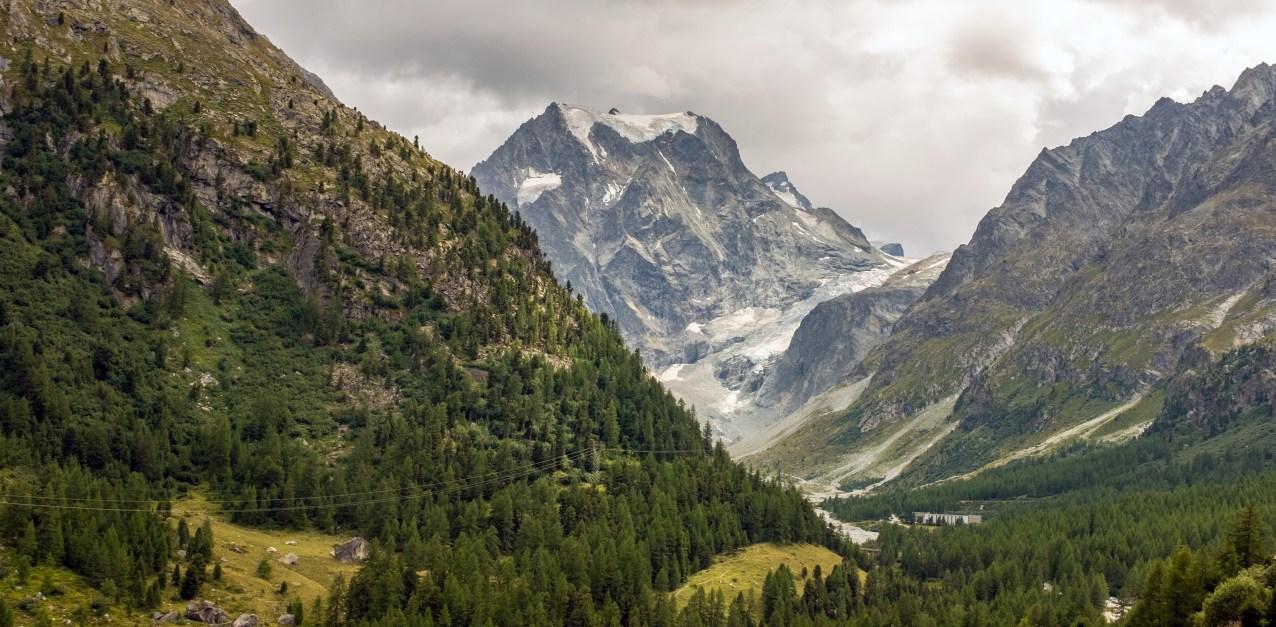 ' Arolla with Tsijiore Glacier