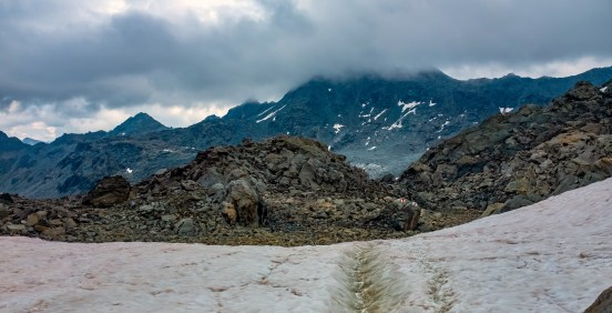 Snowfield to Markers