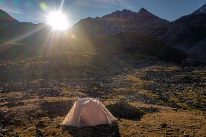 Campsite-Below-Augustboardpass-Sunrise