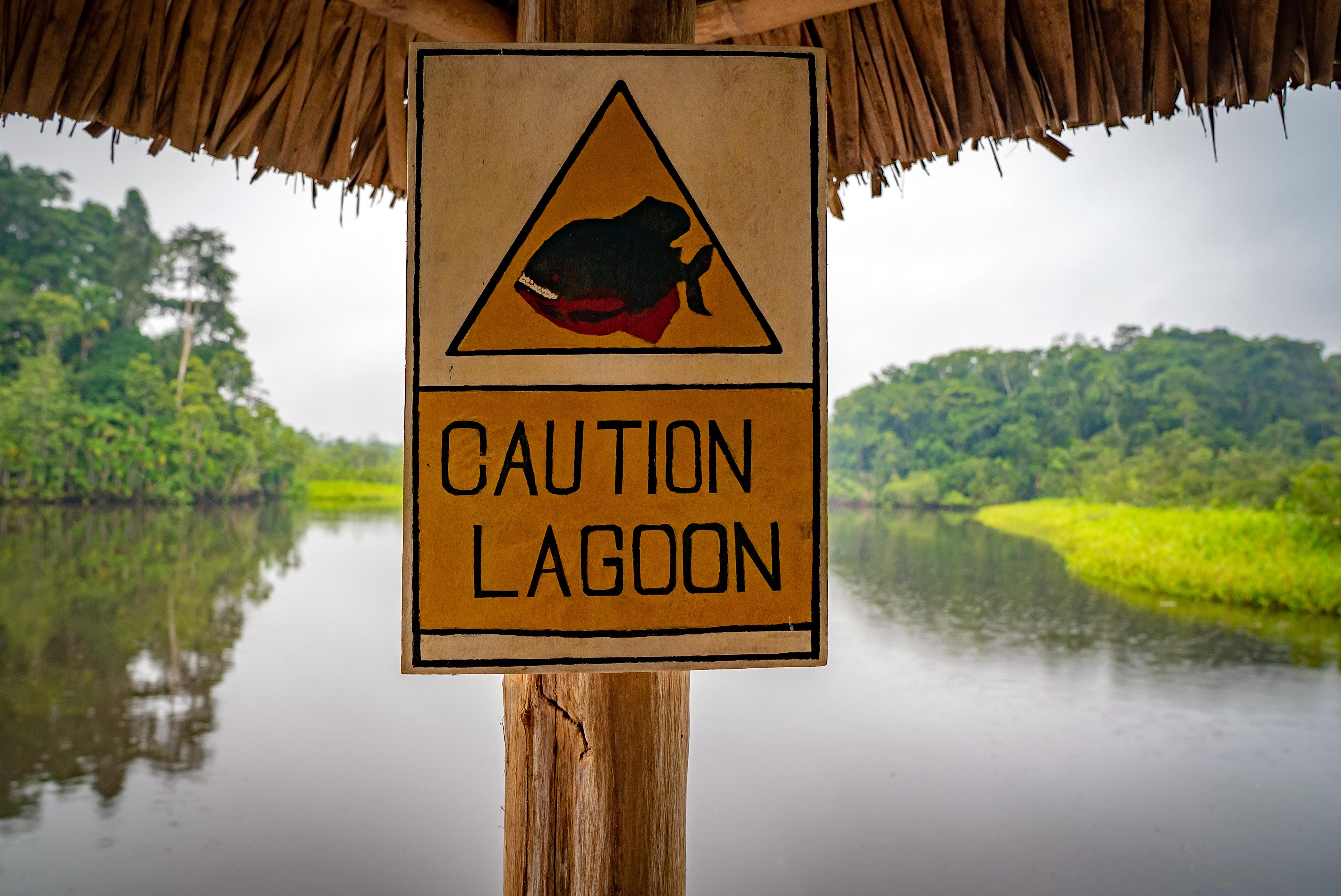 Caution Lagoon