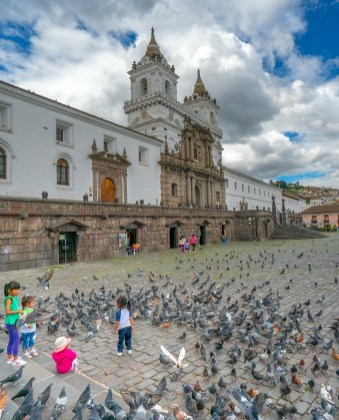 Quito - San Francisco Plaza