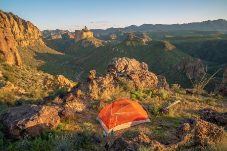 Campsite Above La Barge Canyon