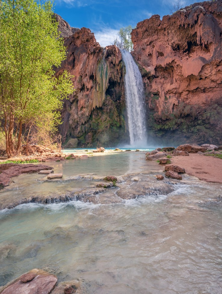 Havasupai Falls Pools 2