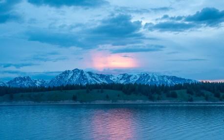 Teton Range Glow