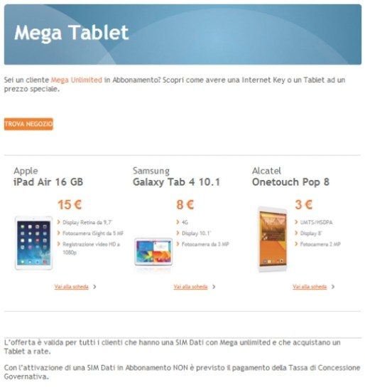 MEGA TABLET