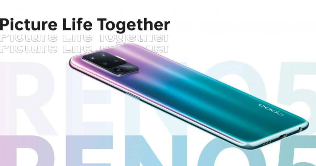 Oppo Reno5 F fantastic purple