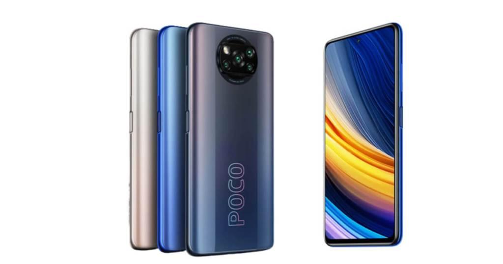 POCO X3 Pro 3 colors