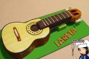 Tarta Fondant Guitarra Española