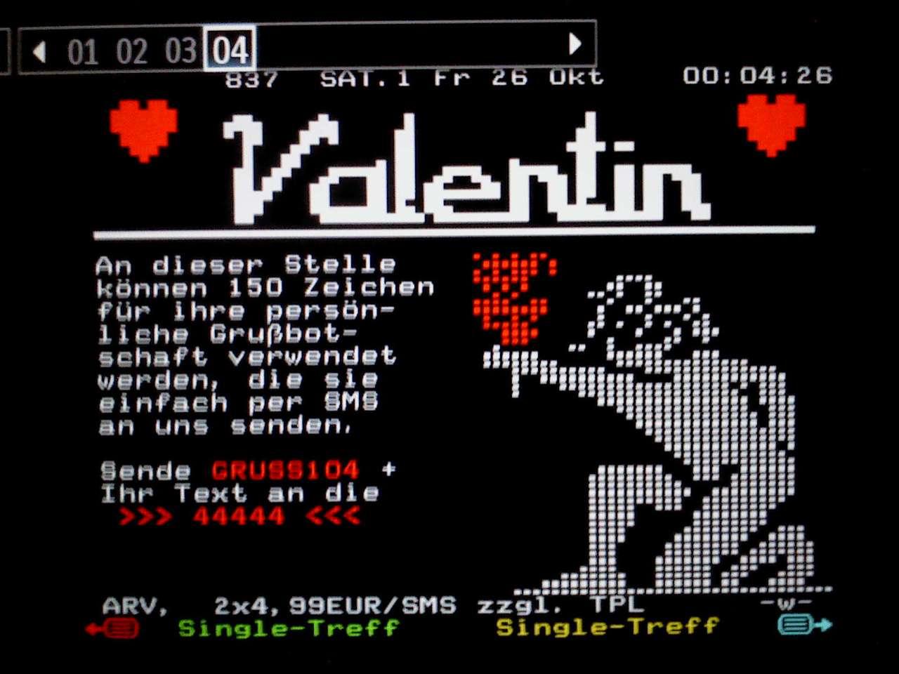 Happy Valentine S Day From Teletextart Teletext Art