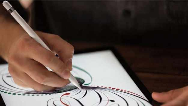 Apple Pencil en action